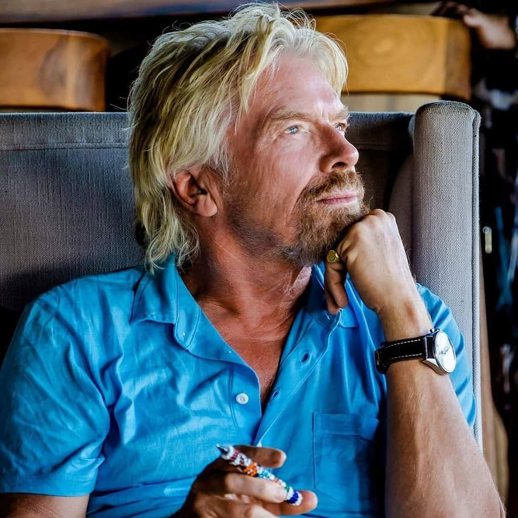Men want to be like Richard Branson