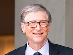 Men want to be like Bill Gates