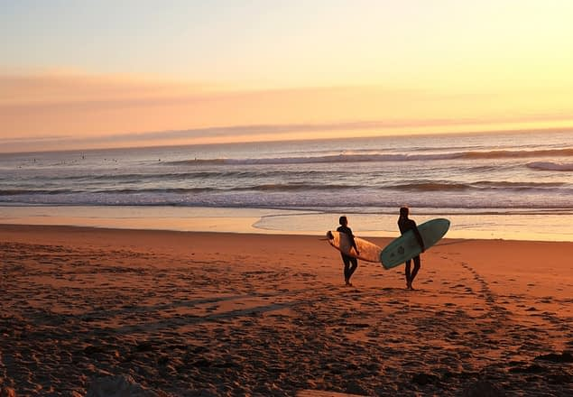 yoga and surfing
