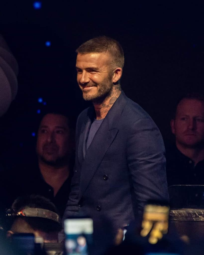 Men want to be like David Beckham